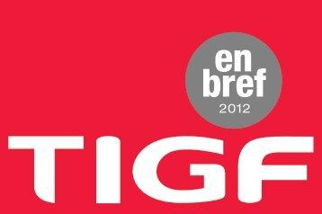 TIGF en bref 2012