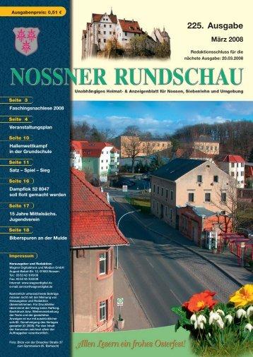 Fr 8.30 – 18.30 Uhr - Nossner Rundschau