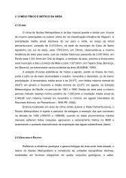 Estudos Ambientais do Núcleo Metropolitano - CPRH