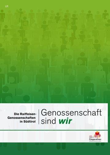 Genossenschaft sind wir - Raiffeisenverband Südtirol