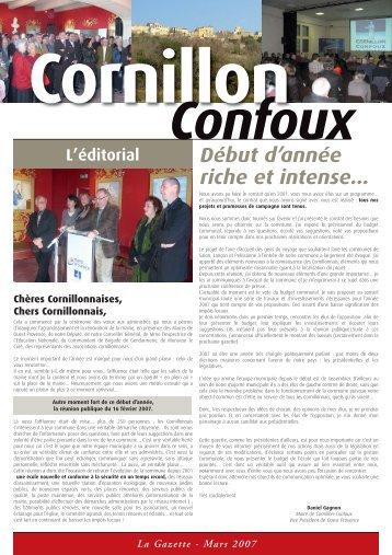 La Gazette - Cornillon-Confoux