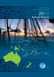 Annual Report - Pacific Islands Forum Fisheries Agency