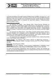 Compte rendu COMSI 2004 - Centre National de Recherches ...