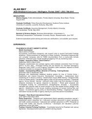View Alan May's CV Here