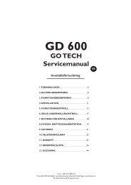 Granuldisk GD600 Manual - Diskbolaget