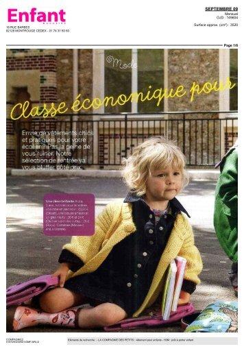 SEPTEMBRE 09 - La Compagnie des Petits