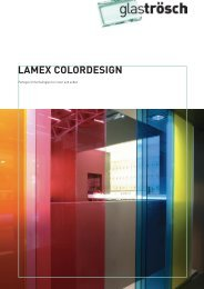 LAMEX COLORDESIGN Prospekt - Glas Trösch Beratungs-GmbH