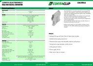 Instruction leaflet CMS-RTD-UI - CONTA-CLIP