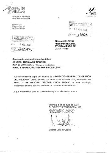 Dirección General de Gestión del Medio Natural ... - Mediterranea.org