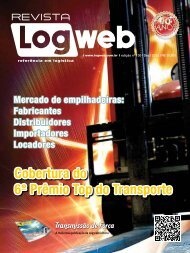 Cobertura do 6º Prêmio Top do Transporte - Logweb