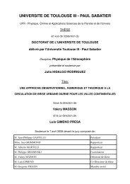 UNIVERSITE DE TOULOUSE III PAUL SABATIER - Centre National ...