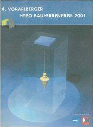 4. Vlbg. Bauherrenpreis 2001 - architektur-kuess.at :: Home