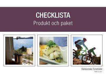 Produkt och paket