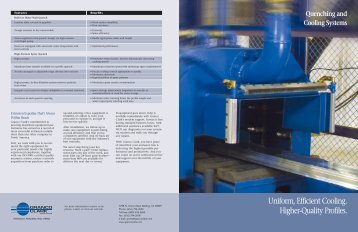 Quenching & Cooling Systems Brochure - Hetpan.net