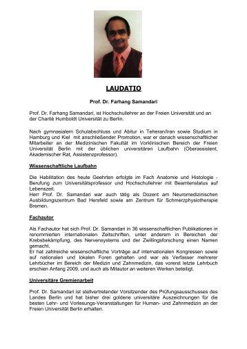 Laudatio Prof. Dr. Samandari.pdf - Mechthild Rawert