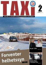 TAXI nr. 2/12 - Norges Taxiforbund