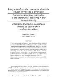 Integración Curricular: respuesta al reto de educar en y desde la ...