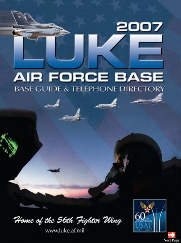 56th Mission Support Group - Luke Air Force Base