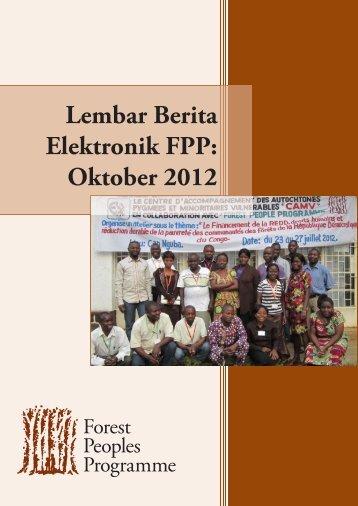 Lembar Berita Elektronik FPP: Oktober 2012 - Forest Peoples ...