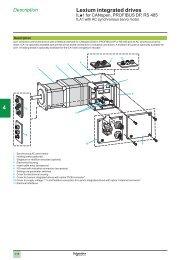 CanOpen, Profibus, RS485 - Setec