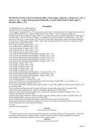 DECRETO LEGISLATIVO 10 febbraio 2005 n.30 - Ordine degli ...