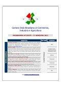 PROGRAMMA ATTIVITÀ 2º SEMESTRE - Câmara Ítalo-Brasileira de ... - Page 2