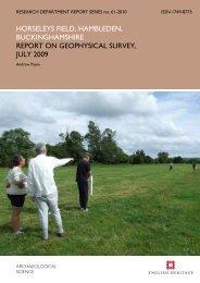 horseleys field, hambleden, buckinghamshire ... - English Heritage