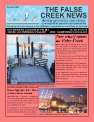 vancouver - The False Creek News