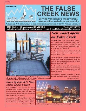 vancouver - The False Creek News