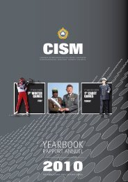 YEARBOOK - CISM
