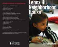 The Annual Fund - Lenox Hill Neighborhood House
