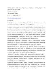 UTILIZACIÓN DE LA PIZARRA DIGITAL INTERACTIVA EN ... - Catedu