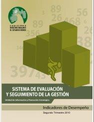 Indicadores de Desempeño al segundo trimestre 2010 - codhem