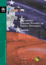country report on sustainable building policies on energy efficiency ...