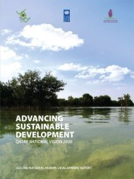 Qatar national vision 2030 advancing sustainable ... - Unesco