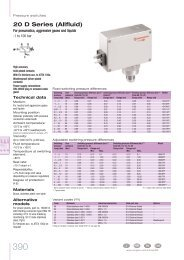 Pressure switches - Auser
