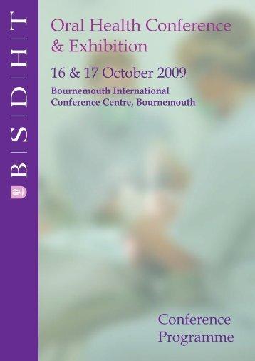 Oral Health Conference & Exhibition - Words Bureau Systems