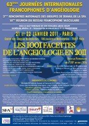 21 ET 22 JANVIER 2011 - ESKA