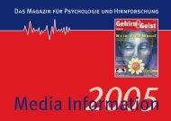 Media Information - Wissenschaft Online