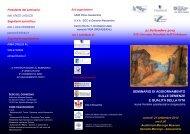 Il programma completo del seminario - AlessandriaNews