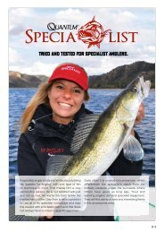 TRIED AND TESTED FOR SPECIALIST ANGLERS. - Zebco