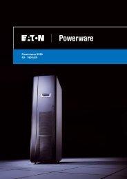 Powerware 9390 40 - 160 kVA - Business Tools Ltd