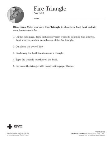 Fire Family Activity Sheets