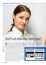 Darf's ein bisschen mehr sein? - FACTS Verlag GmbH