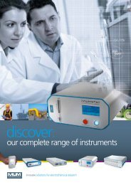 Ivium Product Brochure - LabSolutions