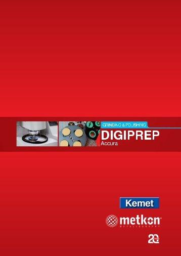 DIGIPREP ACCURA complete catalogue