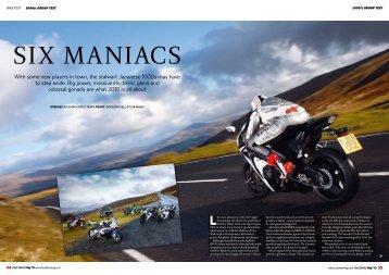 Six Maniacs - Fast Bikes