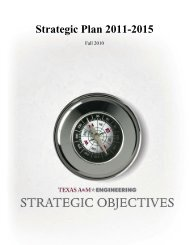 The TAMU COE Strategic Plan - Texas A&M University