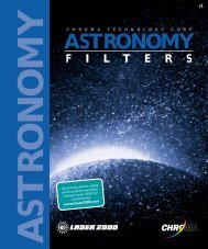 astronomy filters - Laser 2000