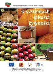 O systemach jakości żywności - małopolskie